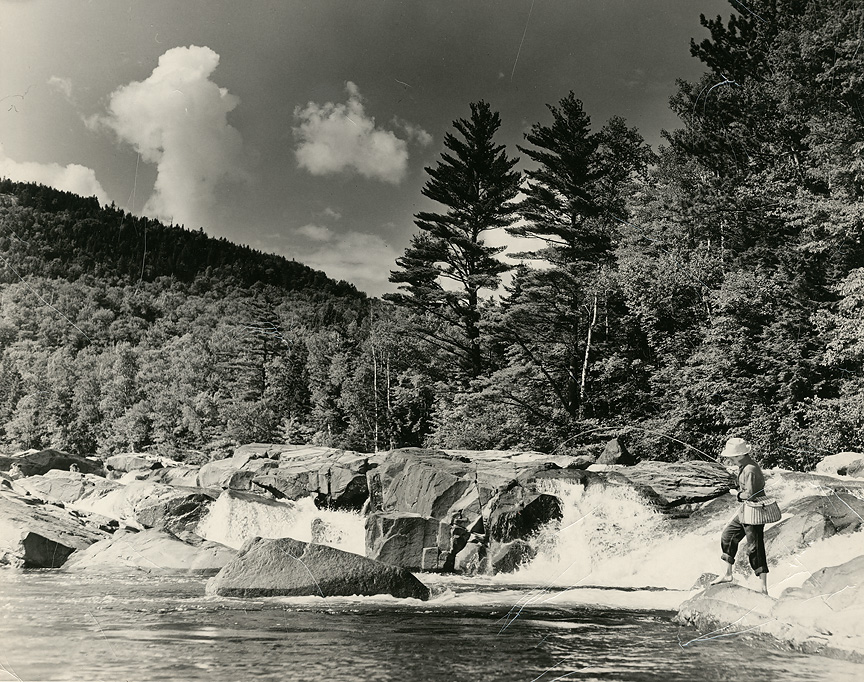 Celebrate 150 years new hampshire fish and game department for Swift river fly fishing