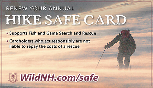 NH Hike Safe Card