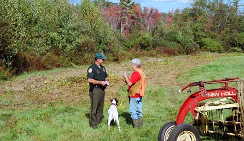 Law enforcement new hampshire fish and game department for Nh fish and game license