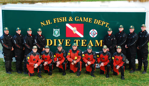 dive team law enforcement new hampshire fish and game