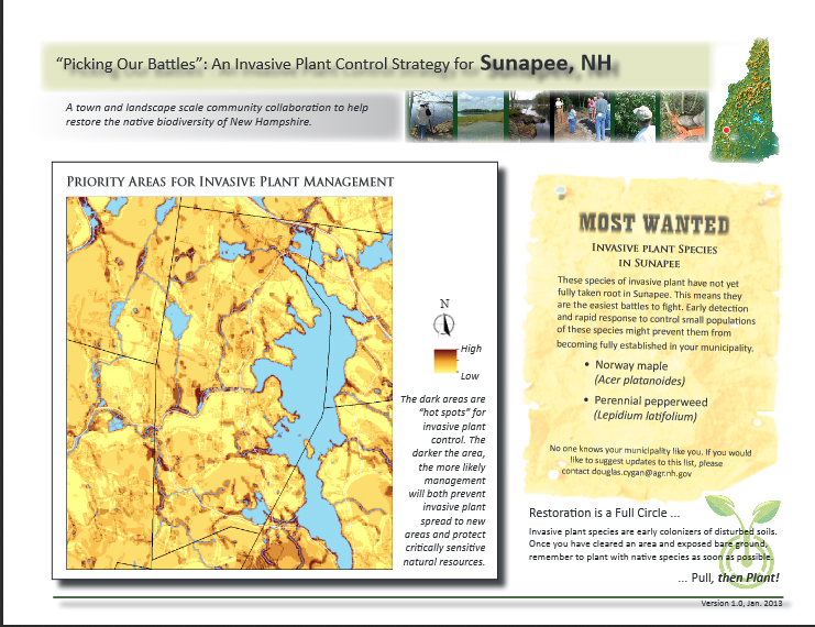 Planning successful invasive plant management projects for Nh fish and game license