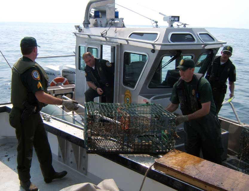 Joint Enforcement Agreement Law Enforcement New Hampshire Fish And Game Department