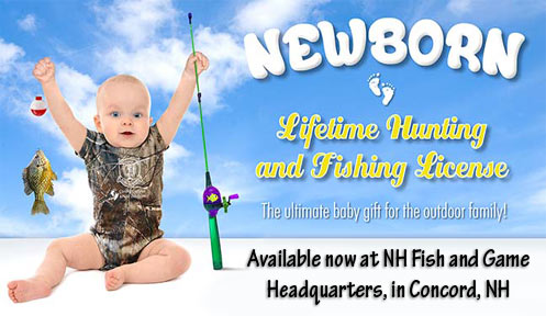 Newborn Lifetime Hunting and Fishing Licenses | Licensing | New