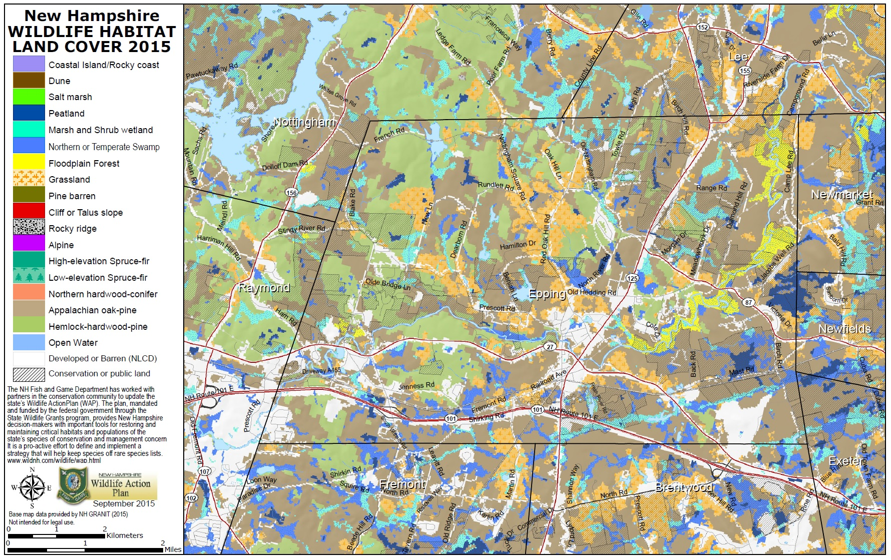 NH Wildlife Action Plan and Habitat Maps   Wildlife   New ... on map of riverwood, map of bottineau, map of penshurst, map of zeeland, map of sanbornton, map of turtle lake, map of essex, map of west melbourne, map of boscawen, map of fort totten, map of high beach, map of kearns, map of ray, map of woolloomooloo, map of nashua, map of north ryde, map of lindfield, map of mount sunapee, map of braddock, map of portsmouth,